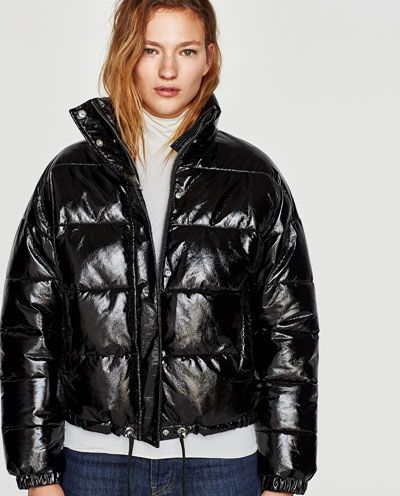fe348de88e6 QUILTED VINYL JACKET-NEW IN-WOMAN | ZARA United States | Outfits in ...