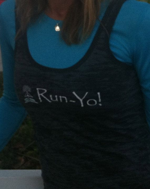 RunYo  Women's Burnout Tank by runyo on Etsy, $20.00