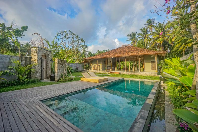 3 Bedroom Villa Well Positioned To Pelangi Or Green School Also Suiting Retirement Villa Ubud Sale House