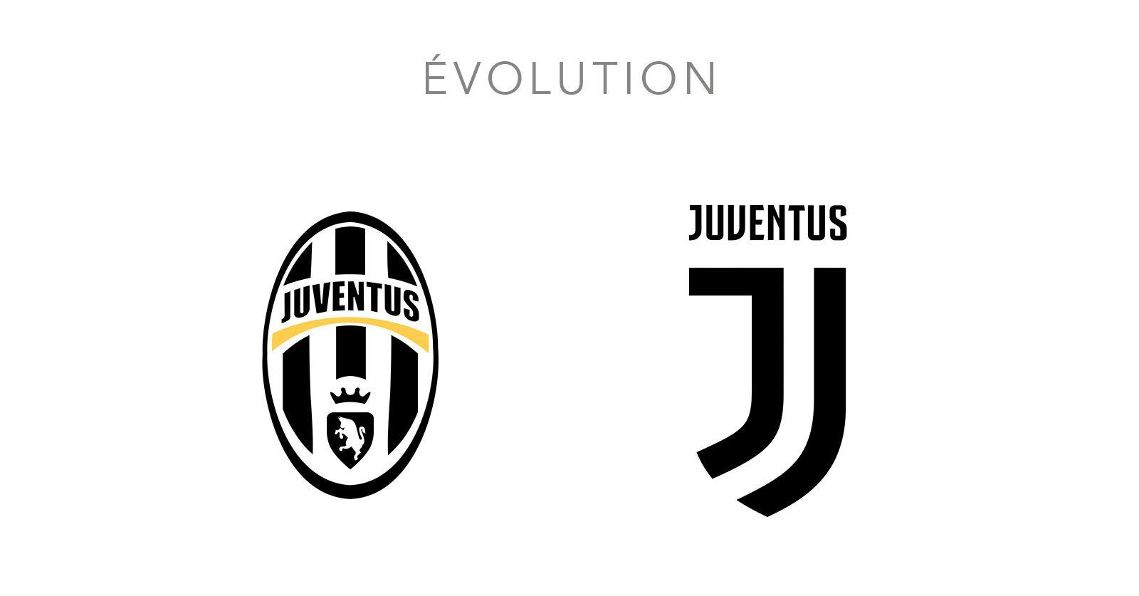 Quand Les Marques Simplifient Leur Logo Evolution Du Logo De Juventus Sport Team Logos Juventus Team Logo