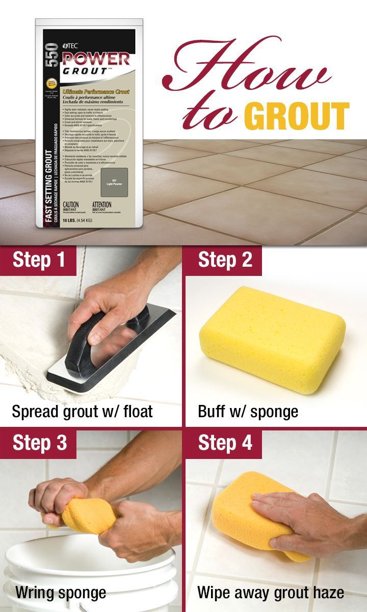 A Step By Step Guide With Special Tips And Tricks For Grouting