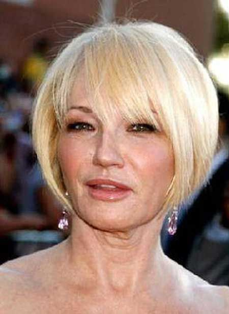 Best Haircuts For Fine Hair With Bangs : Short hairstyles for women over 50 with fine hair blonde