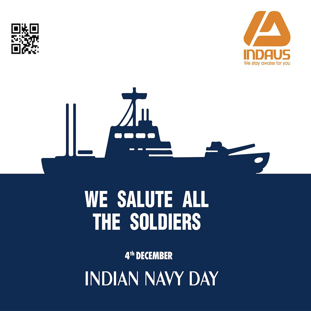 Warm Greetings From Indaus To The Indian Navy Force And Their Families We Salute You For Your Unbeatable Courage And Dete Navy Day Indian Navy Day Indian Navy