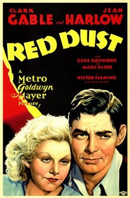 "Jean Harlow in ""Red Dust"" 1932"