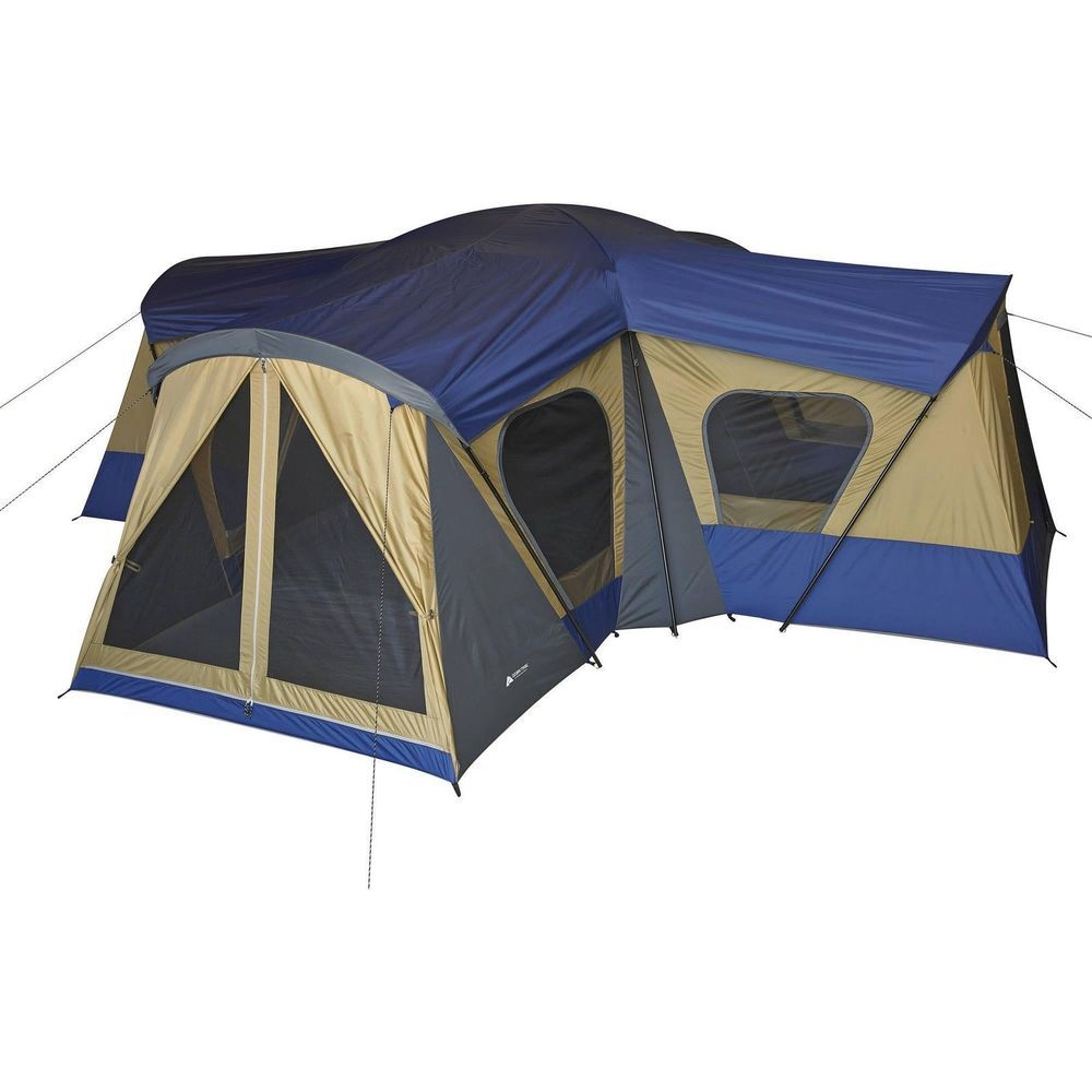 Ozark Trail Base C& 14-Person Cabin C&ing Tent Large Family Outdoor Hiking  sc 1 st  Pinterest & Ozark Trail Base Camp 14-Person Cabin Camping Tent Large Family ...
