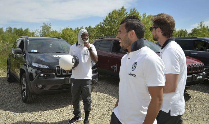 Jeep Experience con i giocatori della Juventus