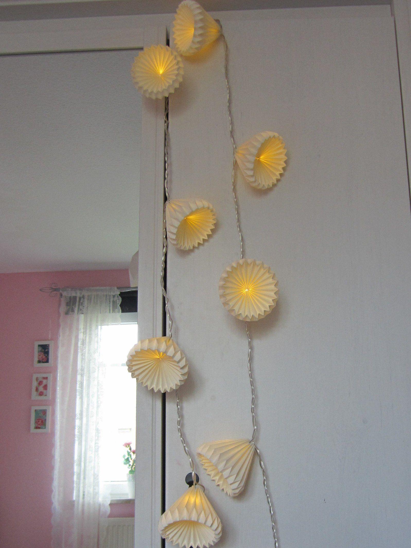 Origami Lichterkette