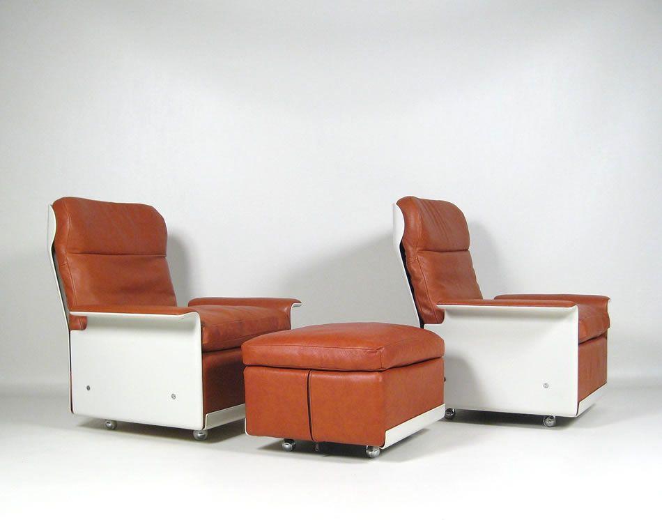 dieter rams vitsoe lounge chair 620 sessel sitzgruppe - Bergroer Sessel Und Ottomane