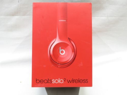 Beats by Dr. Dre Solo2 Wireless On-Ear Headphones - Red https://t.co/xdGmBTxggl https://t.co/QY0dXv8F3c