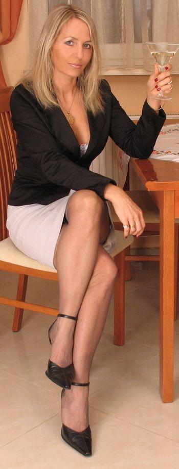 Blonde mature private
