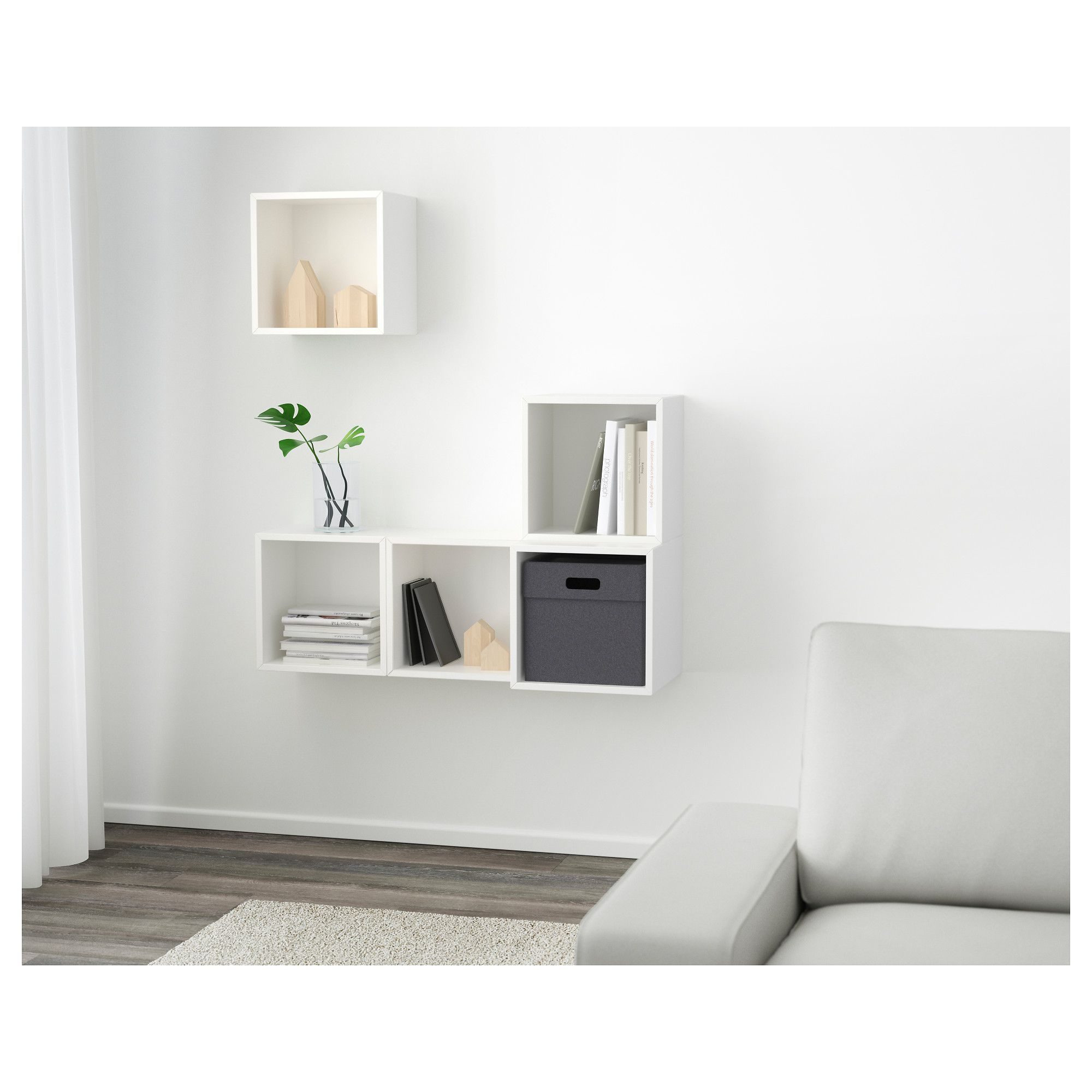 ikea - eket wall-mounted cabinet combination white | products