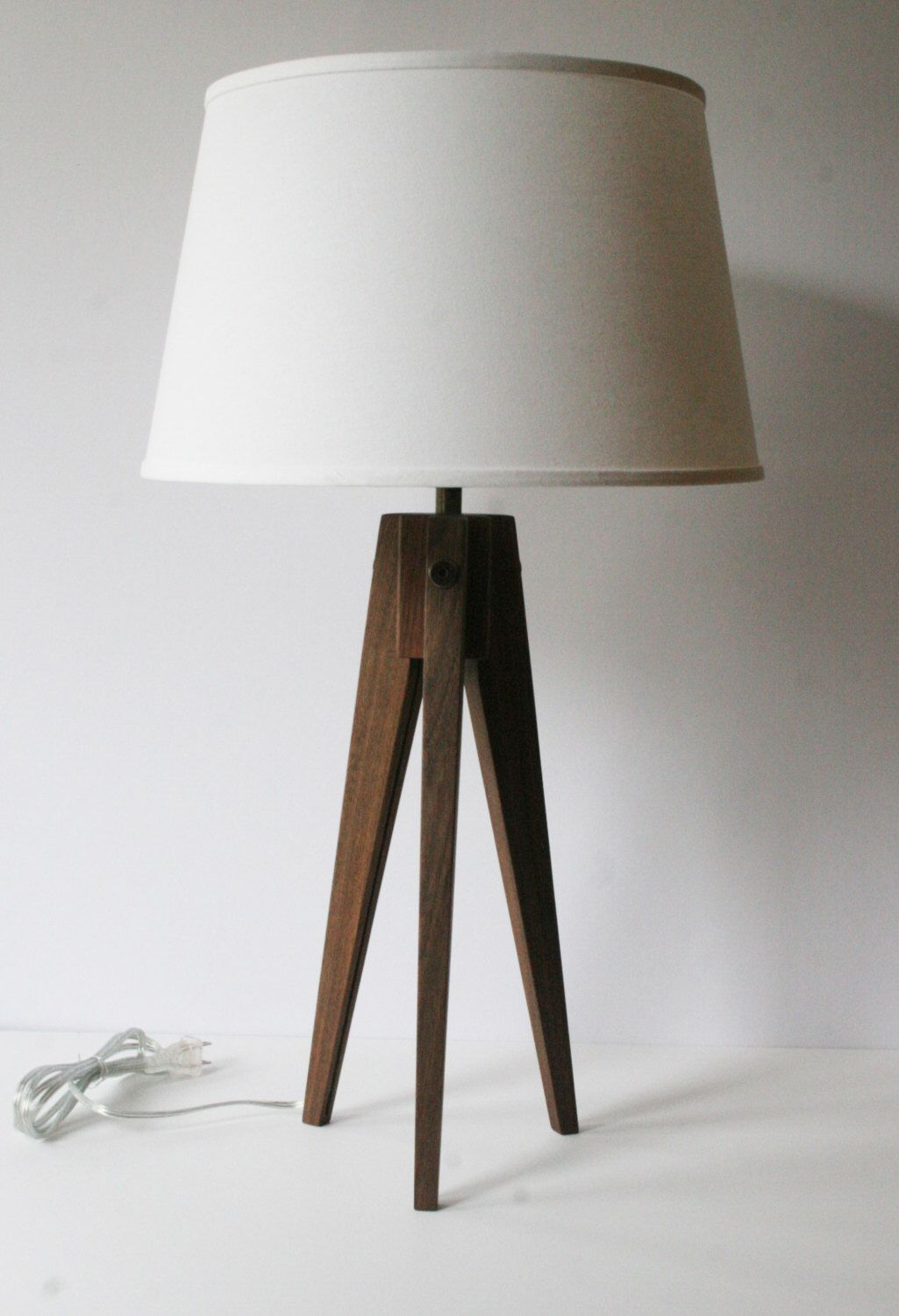Table Lamp Tripod Slim - Walnut by naturalgrain on Etsy https ...