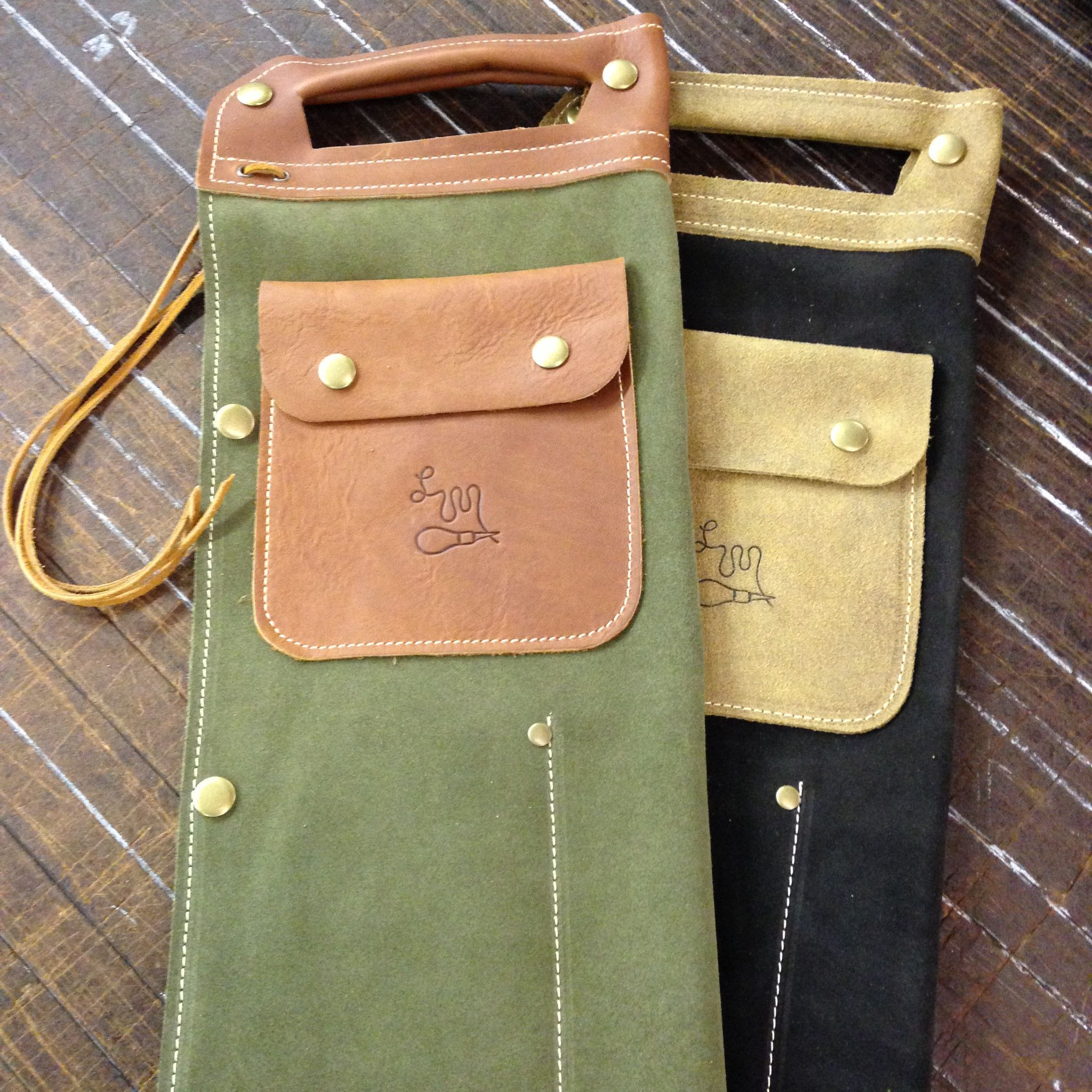 Limited Edition 1985 Reissue Leather Drum Stick Bags