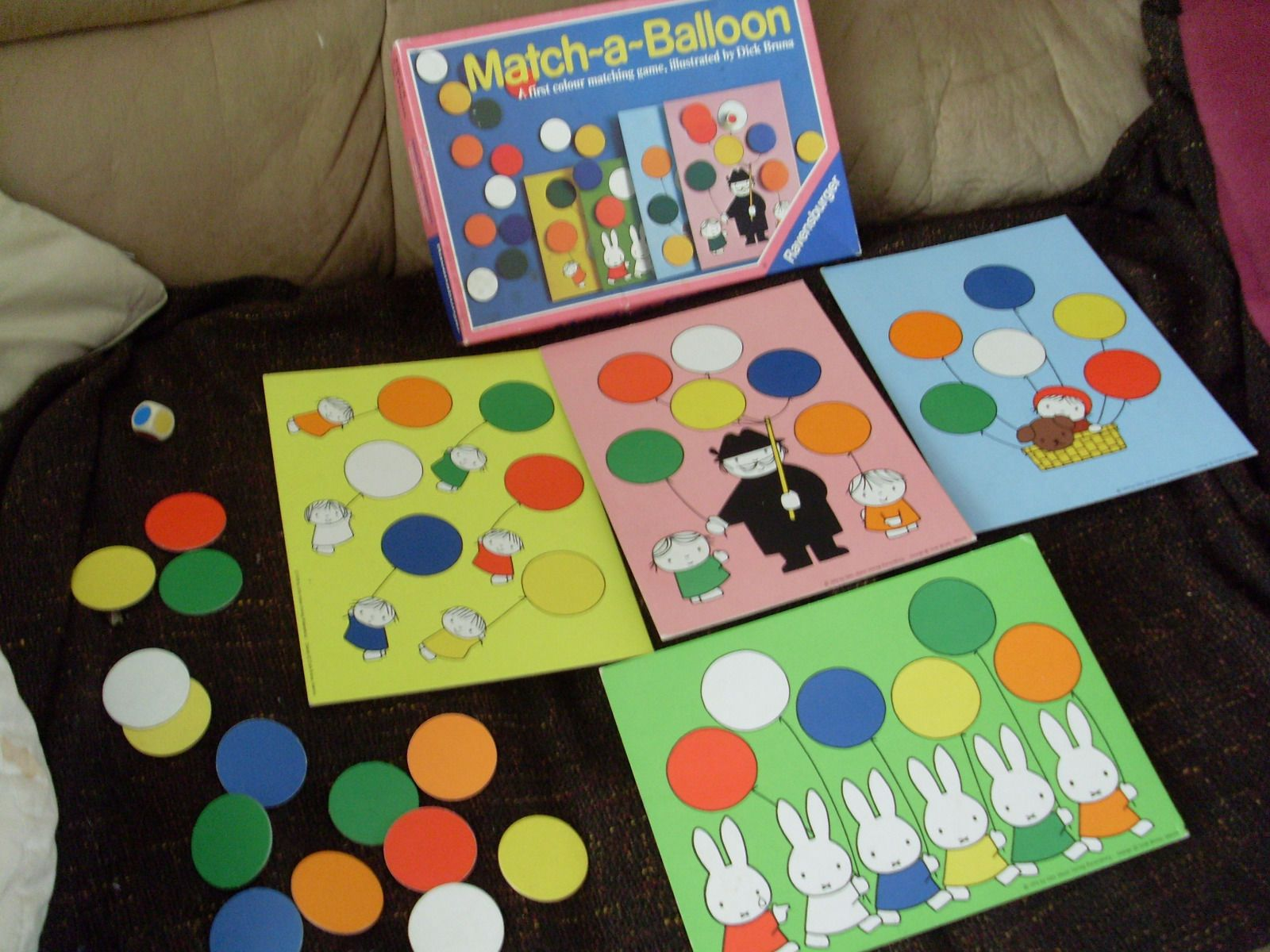 Match-a-Balloon vintage board game, by Ravensburger | eBay