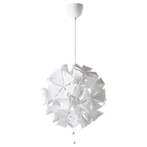 Ramsele Pendant Lamp Geometric White 17 Ikea In 2020 White