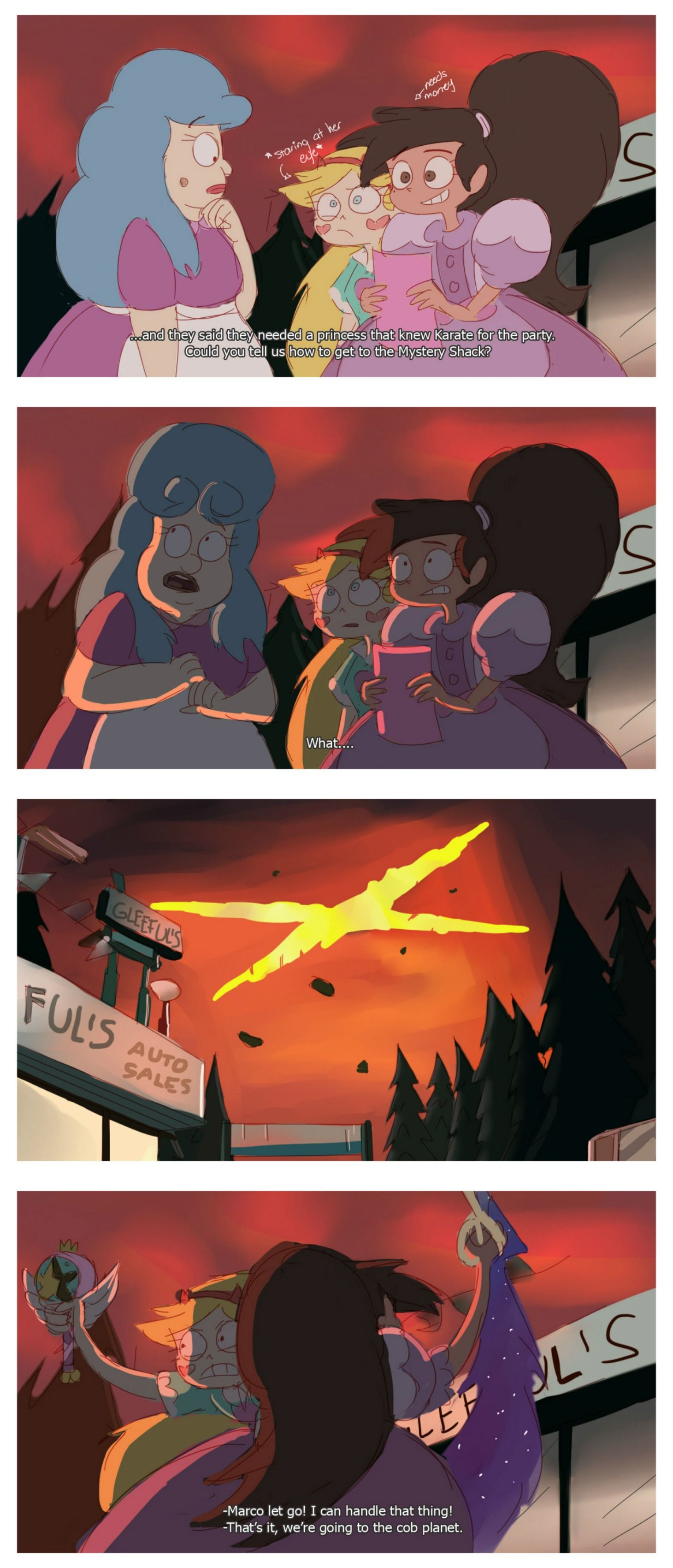 I can handle that thing!   star vs. the forces of evil   Pinterest ...