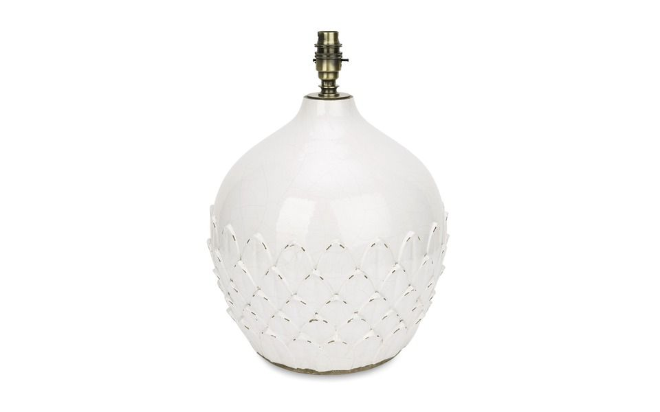Hascombe Artichoke Ceramic Lamp Base at Laura Ashley