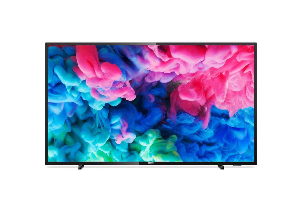 Smart Tv De 50 Pulgadas Philips 50pus6503 Con Resolucion 4k A Su