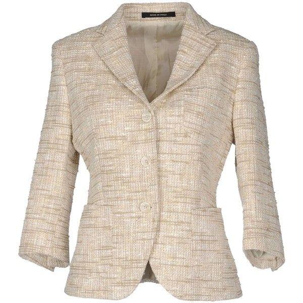 TAGLIATORE 02-05 Blazer found on Polyvore   #SoftAutumn #AutumnSummer #style #natural #classic