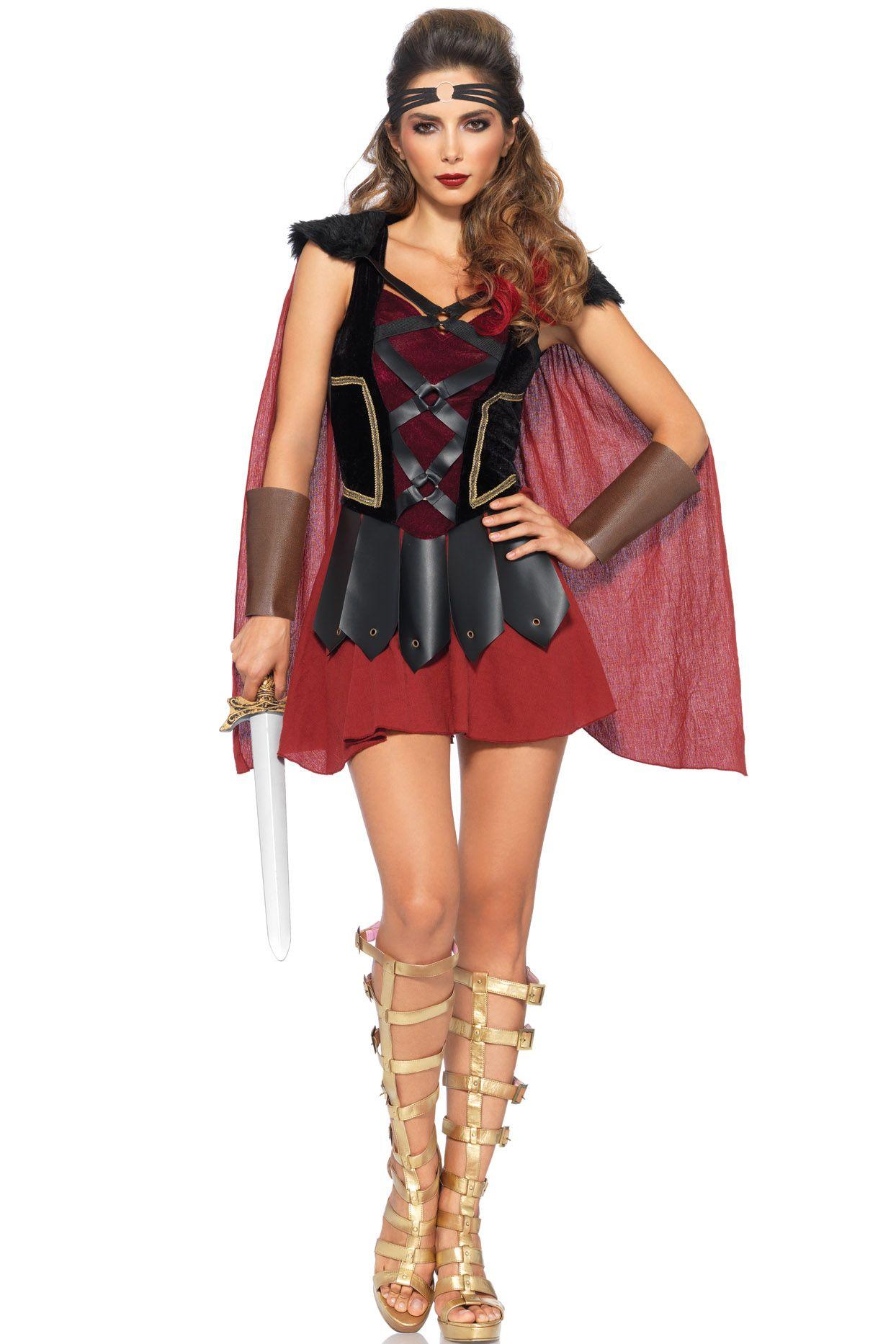 Trojan Warrior Costume  sc 1 st  Pinterest & Trojan Warrior Costume | Womenu0027s Halloween Costumes at LD ...