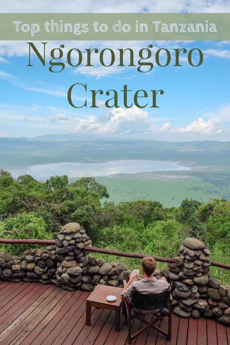 The Ngorongoro Crater is one of the best wildlife destinations in the world. Get to Tanzania and see for yourself!: