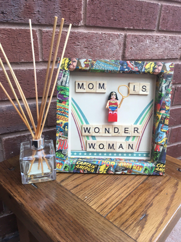 Mommy Frames: Got A Superhero Mom? #etsy Shop: Mom Is Wonder Woman Lego