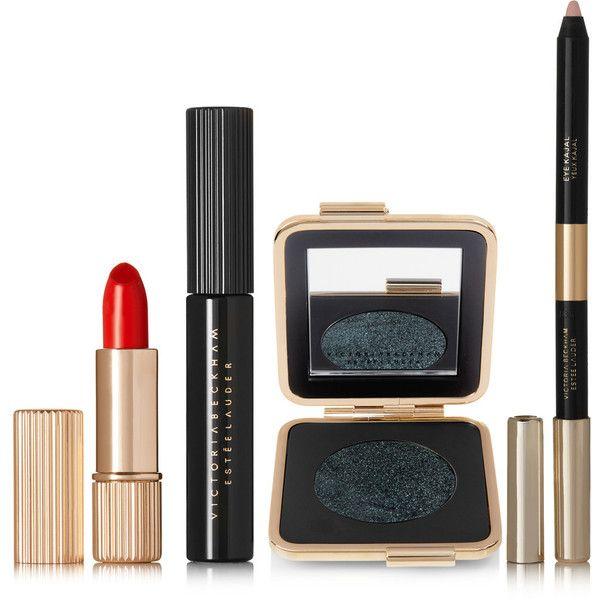 Victoria Beckham Estée Lauder Paris Kit (3 975 UAH) ❤ liked on Polyvore featuring beauty products, makeup, eye makeup, beauty, cosmetics, estee lauder eye makeup, estée lauder, estee lauder makeup, estee lauder cosmetics and eye pencil makeup