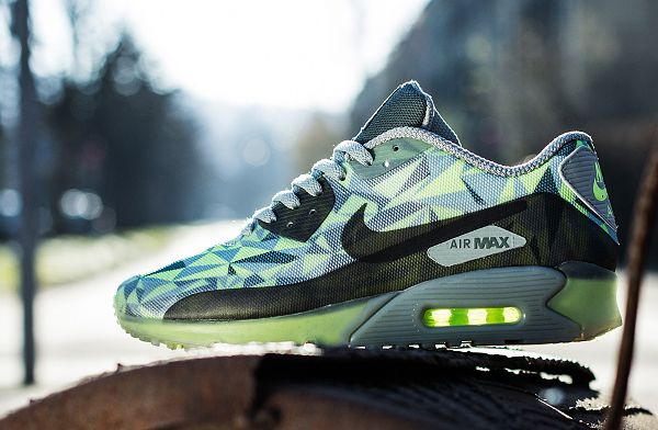 Nike Air Max 90 Ice | Nike air max, Chaussure nike homme, Nike