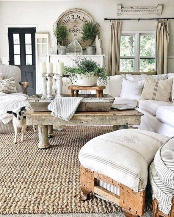 brilliant rustic farmhouse style living room design ideas also best house images in bedroom decor rh pinterest