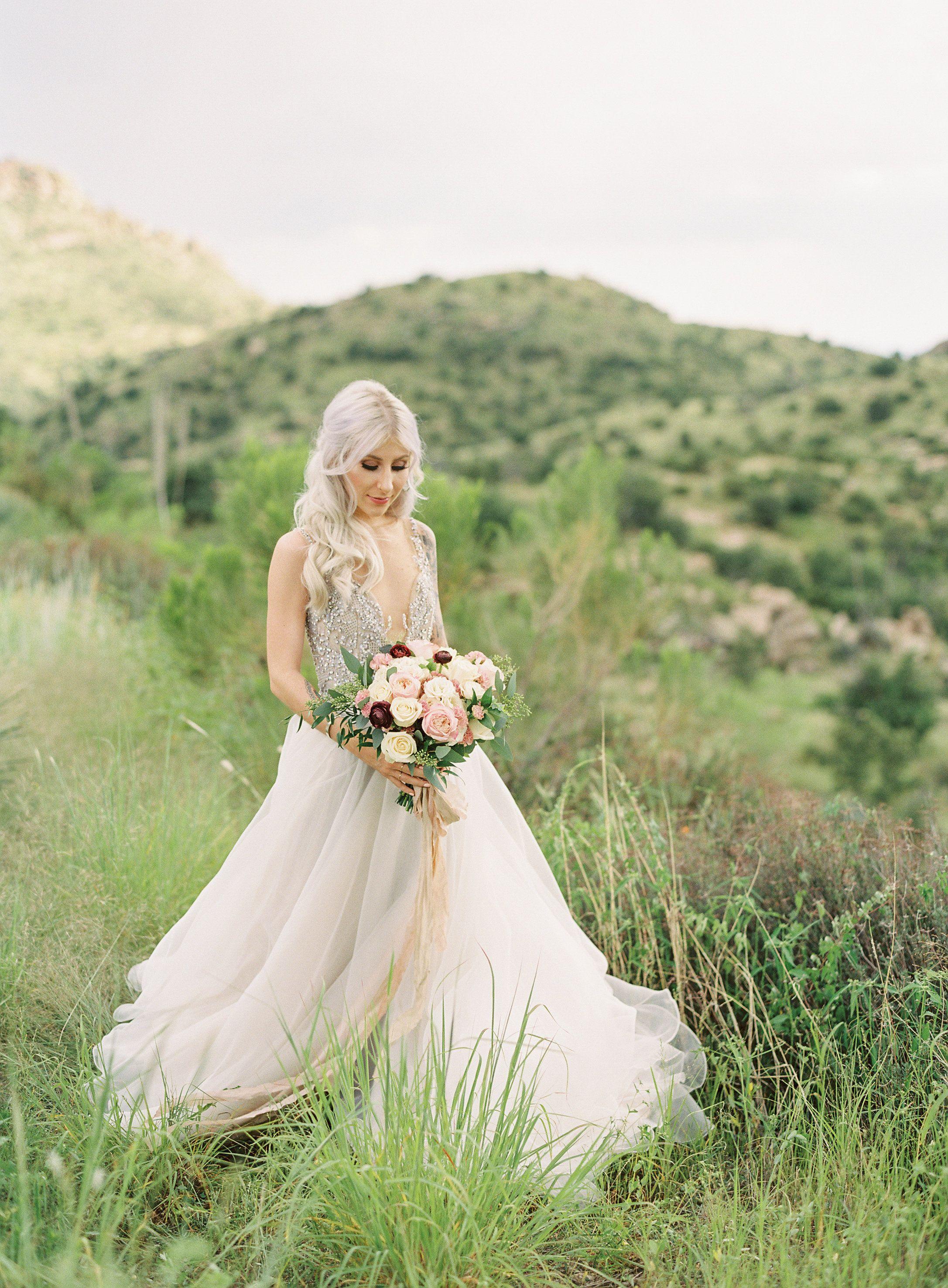Mount Lemmon Mountain Styled Shoot Tucson, Arizona Bride wearing ...
