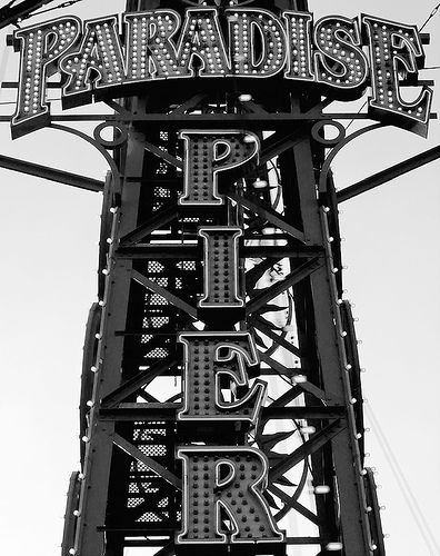 Paradise Pier in Neon | Flickr - Photo Sharing!