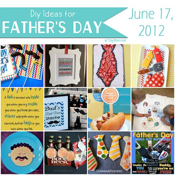 Last Minute DIY Ideas for #FathersDay