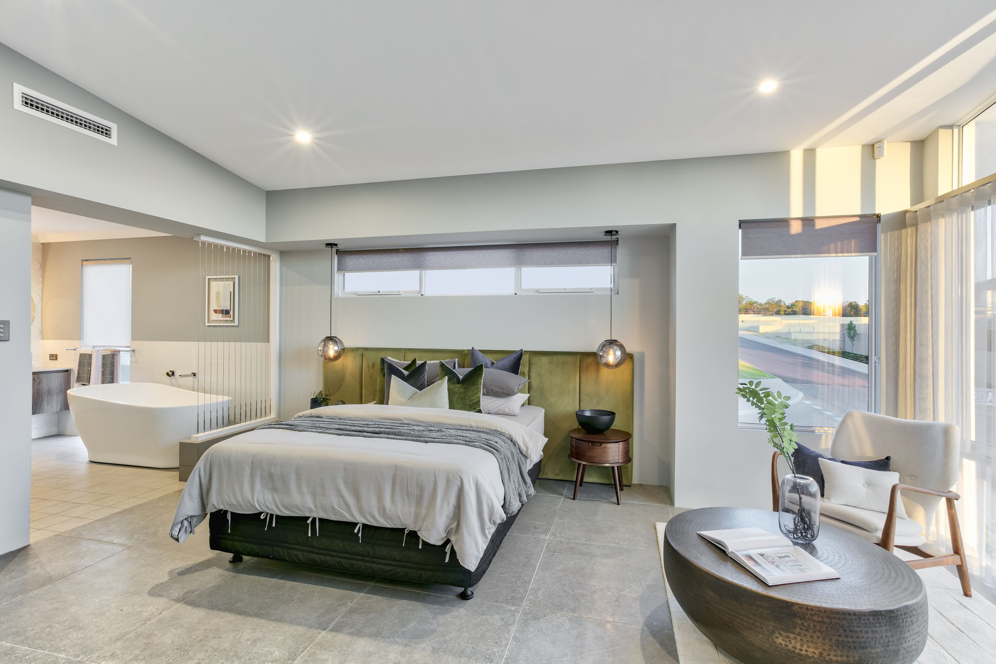 Master bedroom in the Trilogy by Summit Homes. Discover more at ...