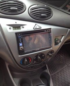 ford focus mk1 alpine ine w530bt double din install. Black Bedroom Furniture Sets. Home Design Ideas
