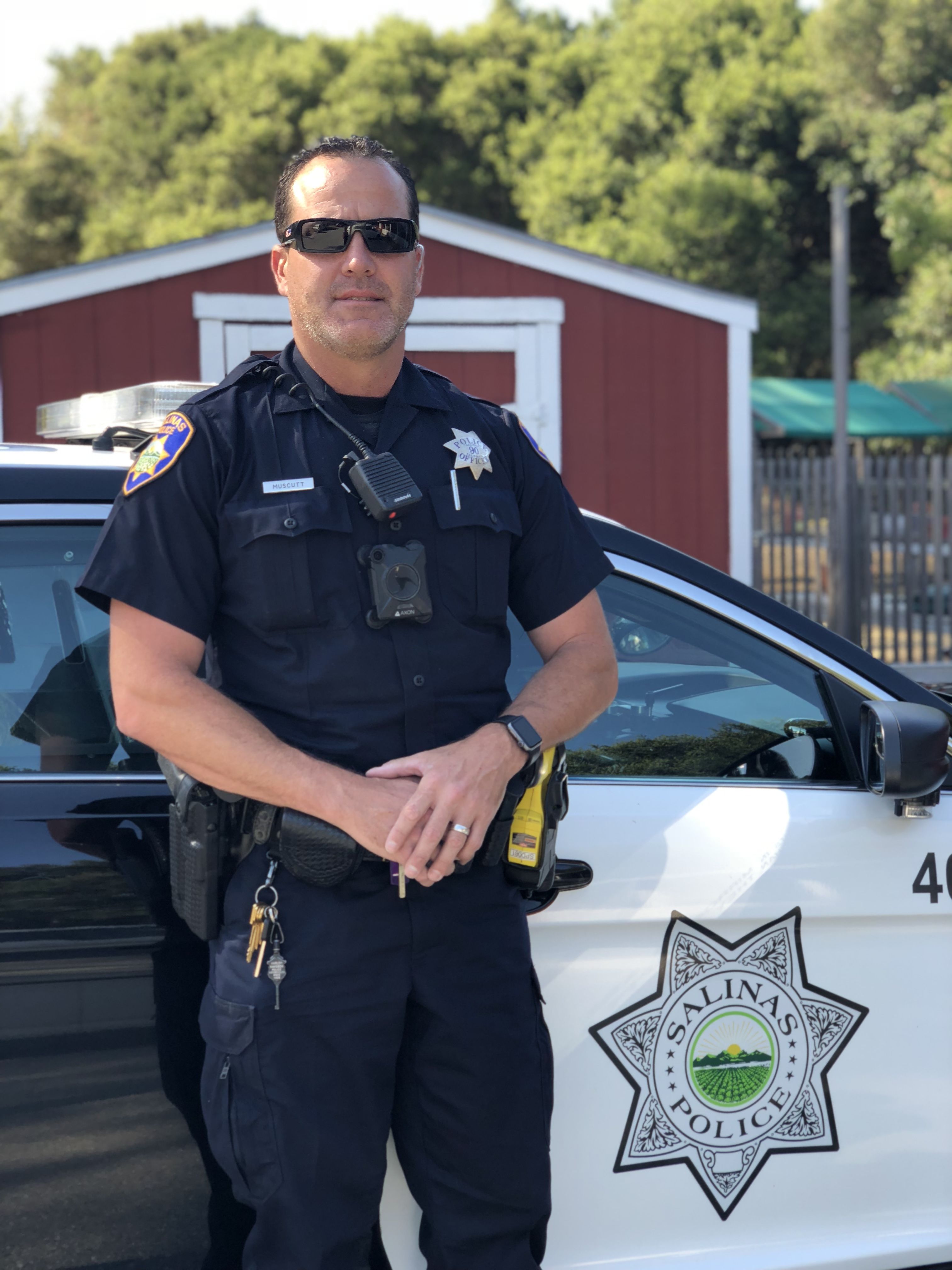 Officer Mike Muscutt, Salinas Police Department #livepd