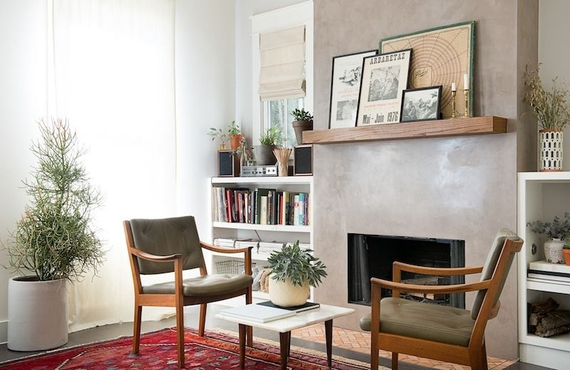 Weekend Projects: Resurface a Fireplace with Stucco   HGTV   Chimney Stucco Over Brick