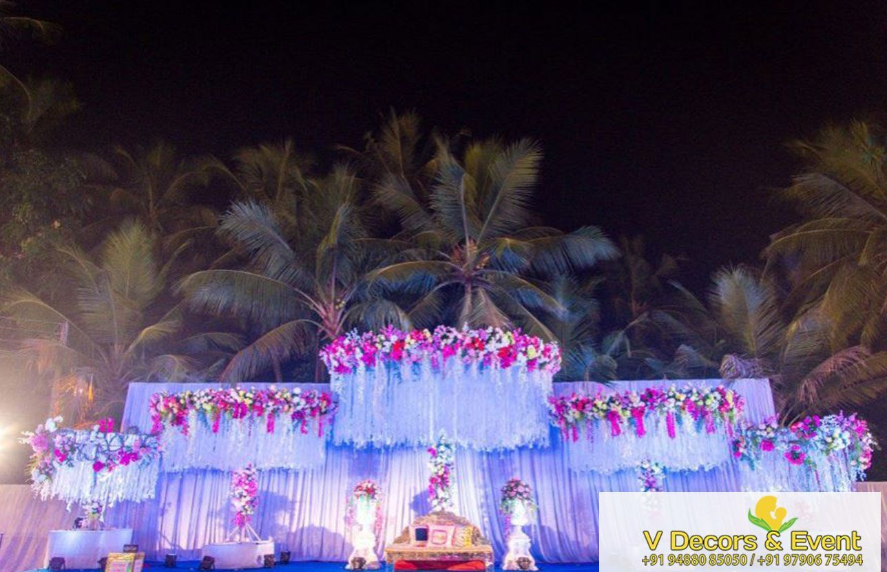 Royal wedding stage decoration  wedding decorations pondicherry  How To Be A Great Event Planner