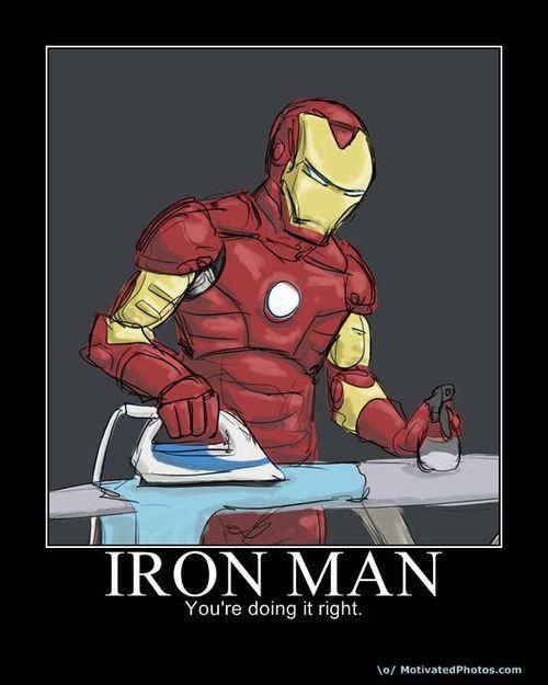 I need this kind of superhero (with this talent) around my house...