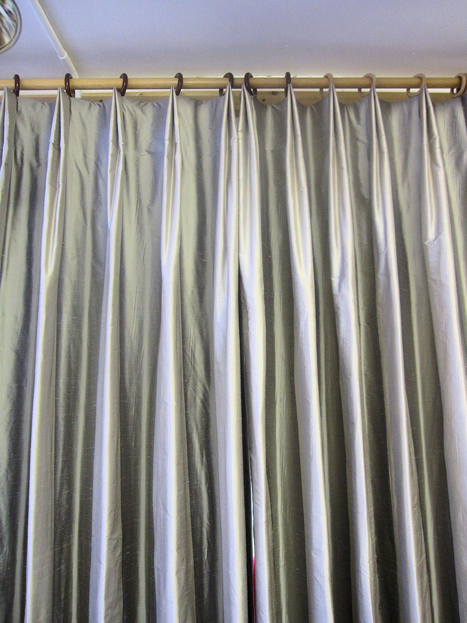 Variation of a double pleat. | Window, Drapery styles and Pleated ... for French Pleat Drapes  568zmd