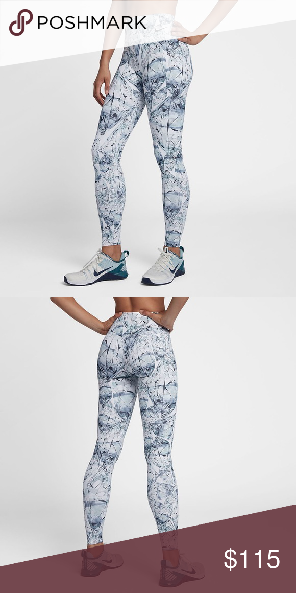 1d834a0a6e925 Nike Power Leggings Tights Diamonds Luxe XL I have the colorful version as  well. Nike