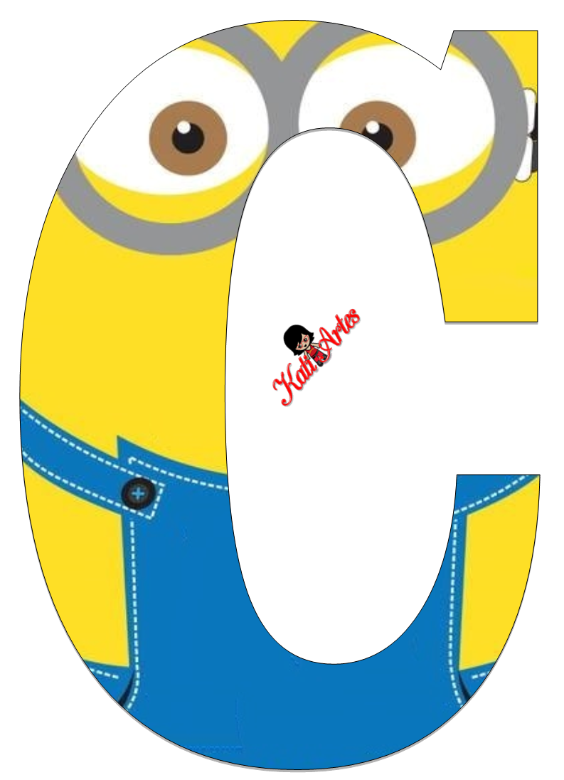 Populares Oh my Alfabetos!: Lindo Alfabeto de Minions. | Projects to Try  PR95