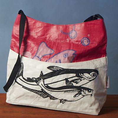 upcycled rice bags supports STOPstart