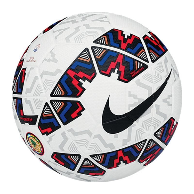 Nike Ordem 2 Copa America 2015 Soccer Ball (White Multi)  5f7a0c4c9f3cf