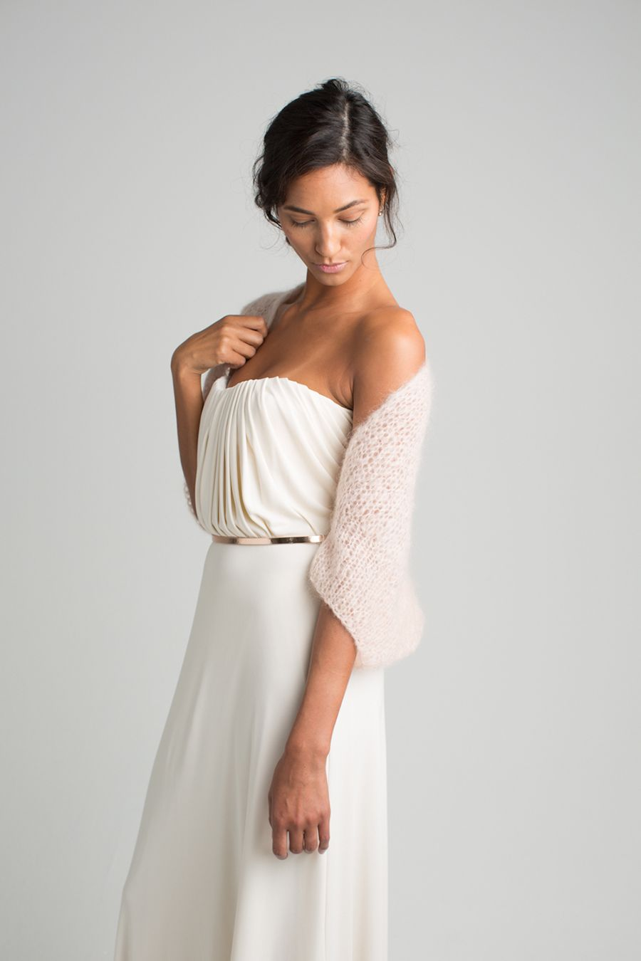 Marryandbride – Strickjacken für die Braut  Pink Softness