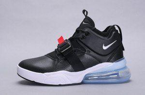 d212782c8746 Mens Nike Air Force 270 Sneakers Metallic Silver Black AH6772 001 ...