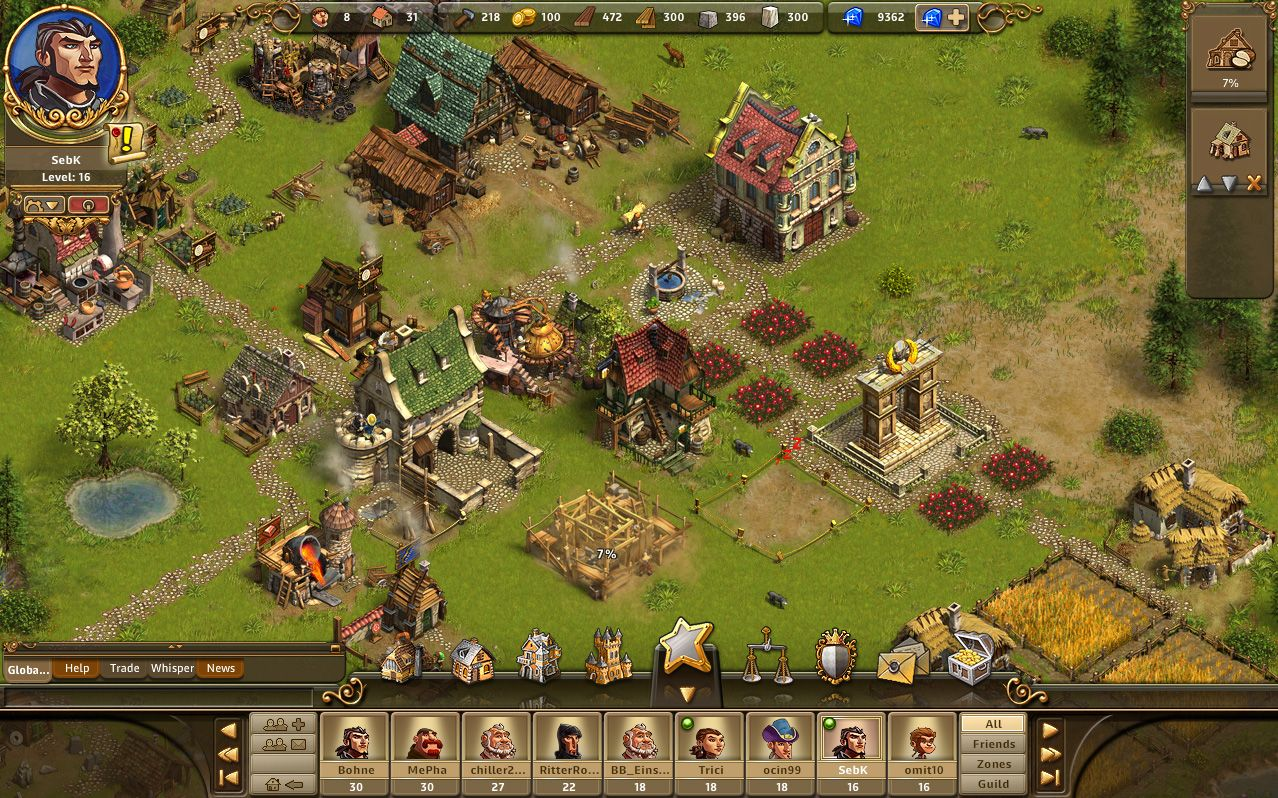 The Settlers Online City Building Game Empire Games Games