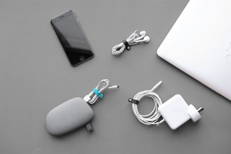 Keep your cables neat organised and tanglefree Attach MaCO to