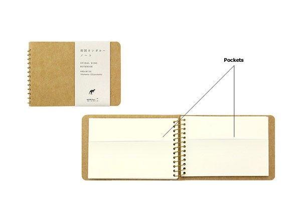 A5 Kangaroo Midori Spiral Notebook