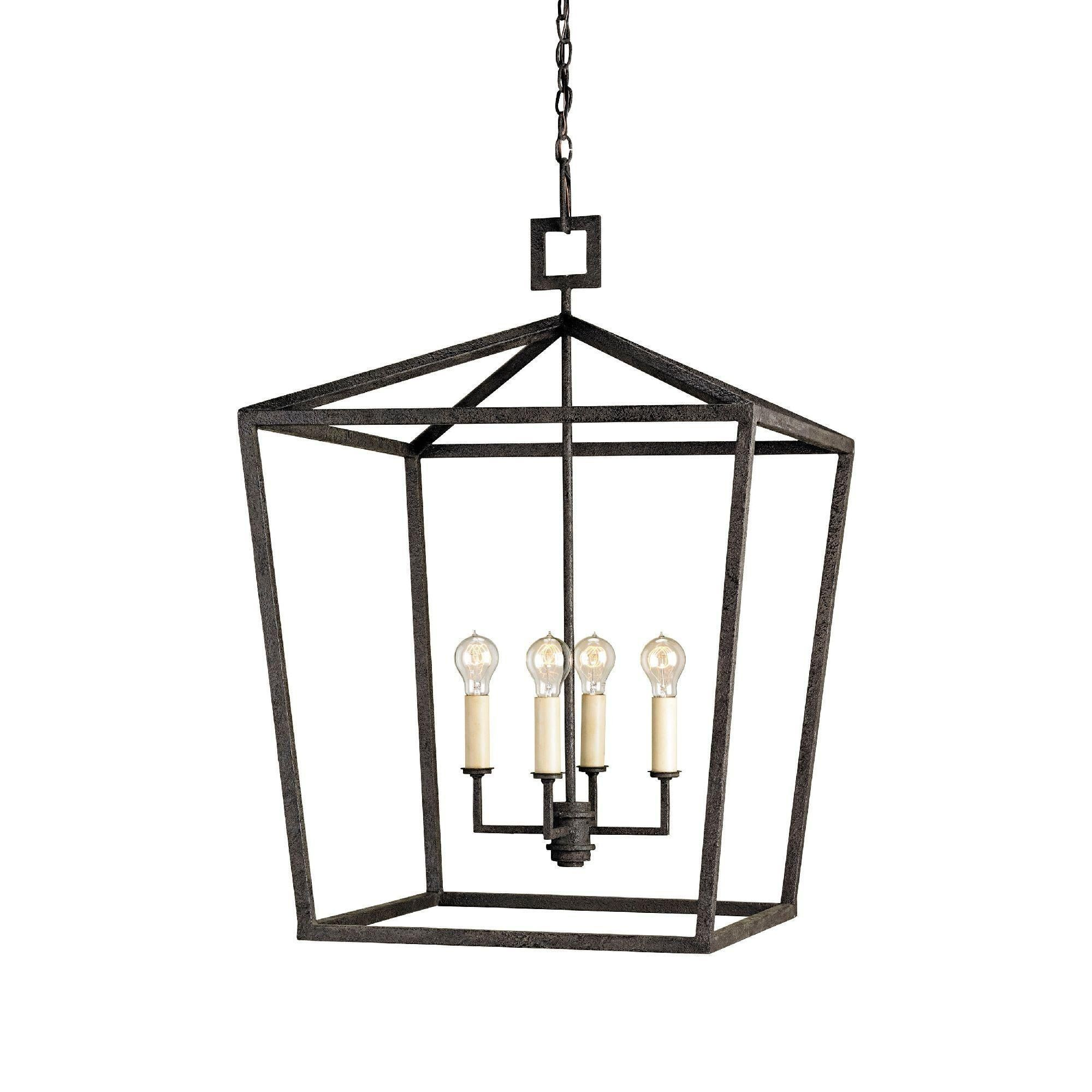 Currey & Co Denison Lantern Small Product ID Dimensions Sm