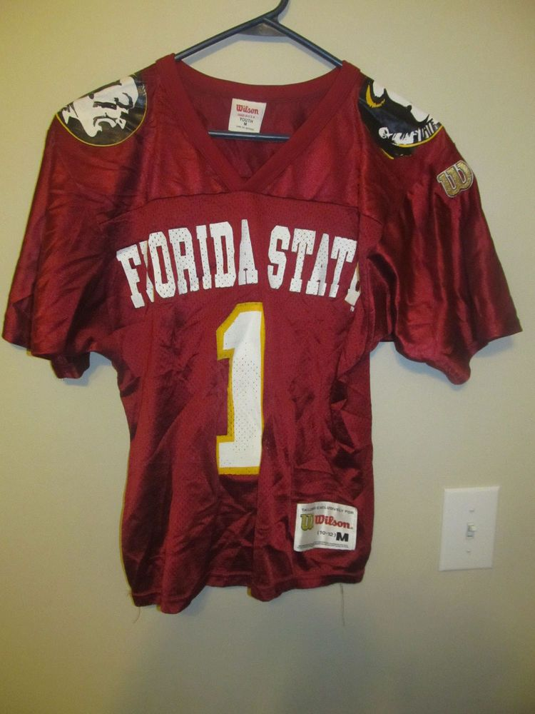 Vintage Florida State Seminoles football jersey - Wilson youth medium   Wilson  FloridaStateSeminoles 81fbc0470